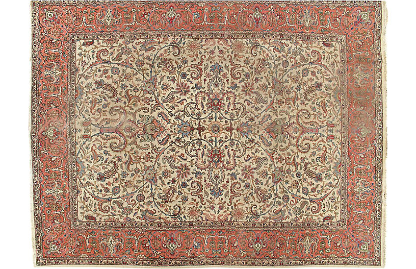 Tabriz Carpet, 9'9