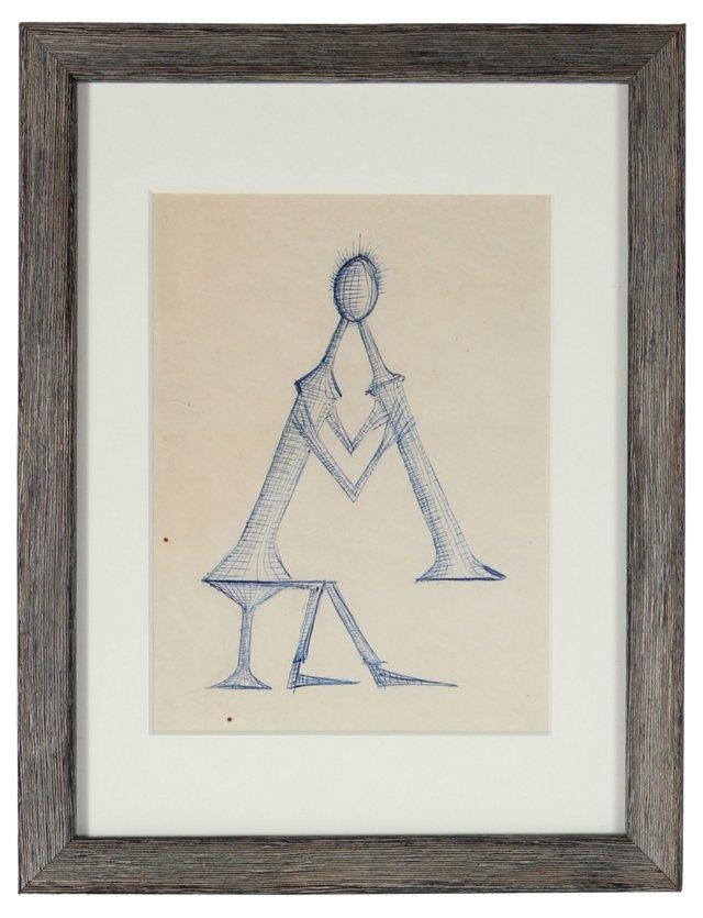 1960s Figure & Flute