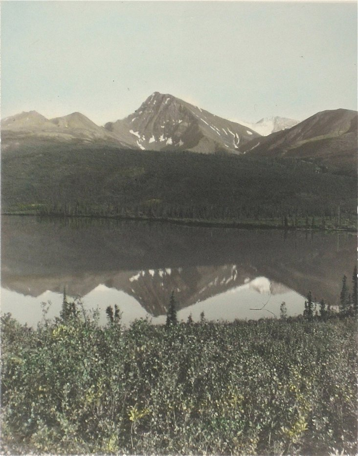 Mid-20th-C. Hand-Colored  Photograph
