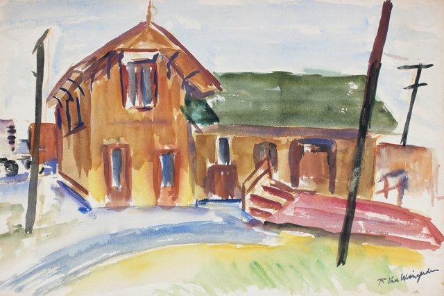 1950s Rural Landscape, Van Wingerden