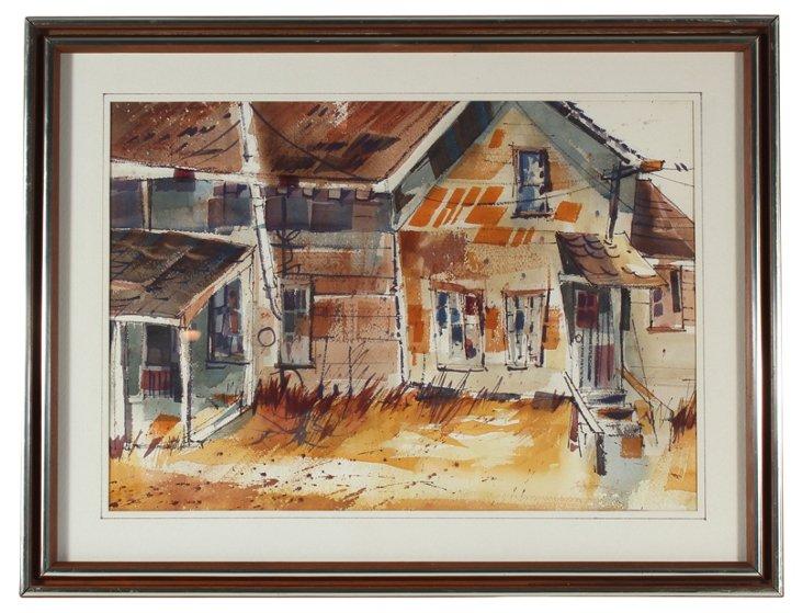Rural Yard, C. 1970
