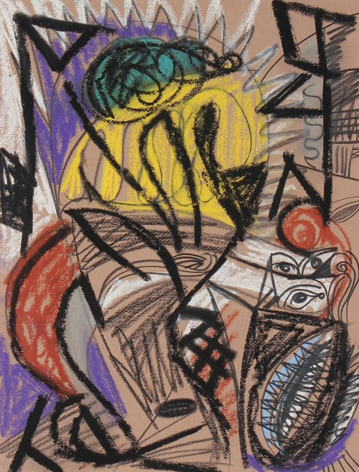 Kandinsky-Style Abstract, di Cosola