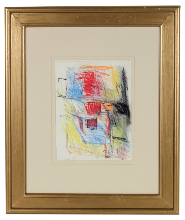 NY Expressionist Abstract, Shaffer