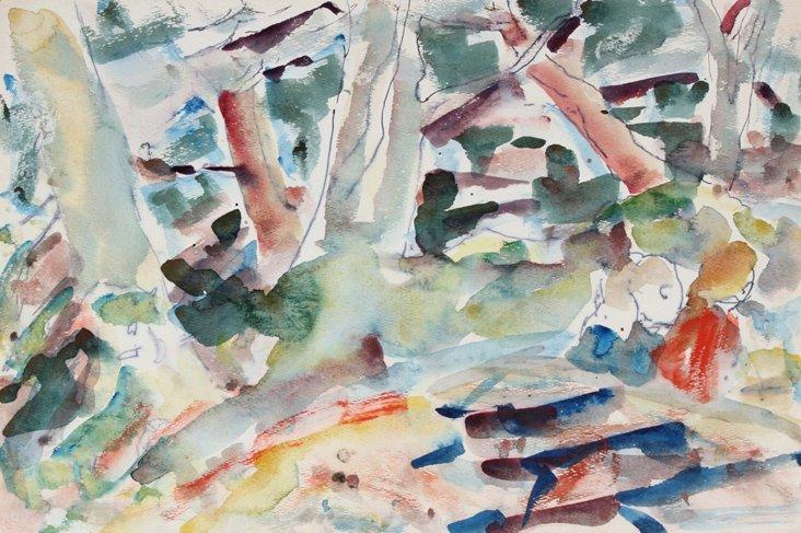 Abstract Landscape, Van Wingerden