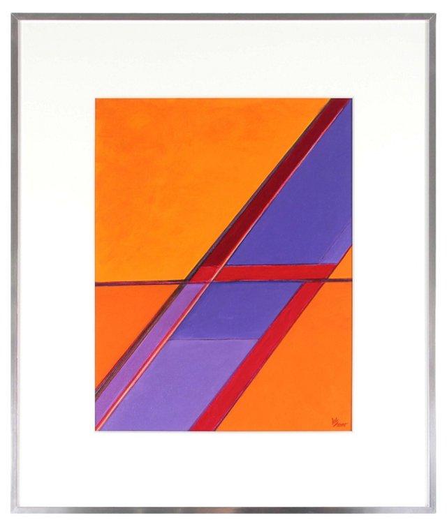 Red Lightning by Warren Snodgrass