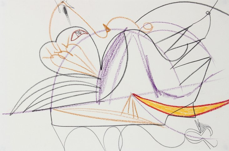 Kandinsky-Inspired Abstract