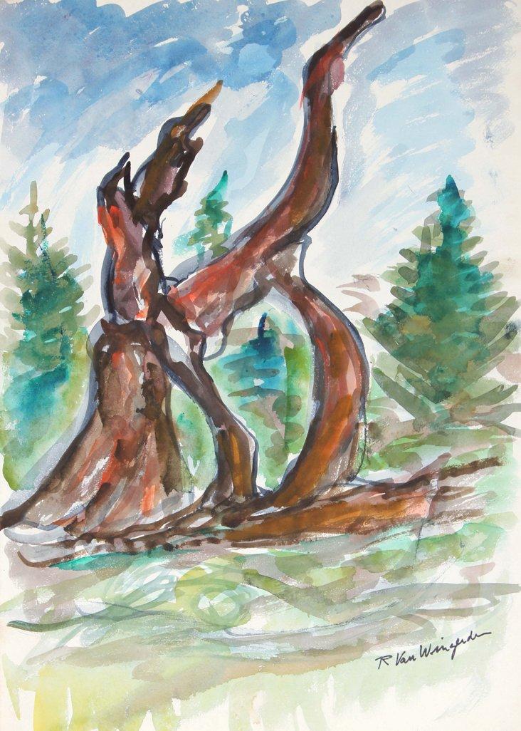 Bare Tree by Van Wingerden