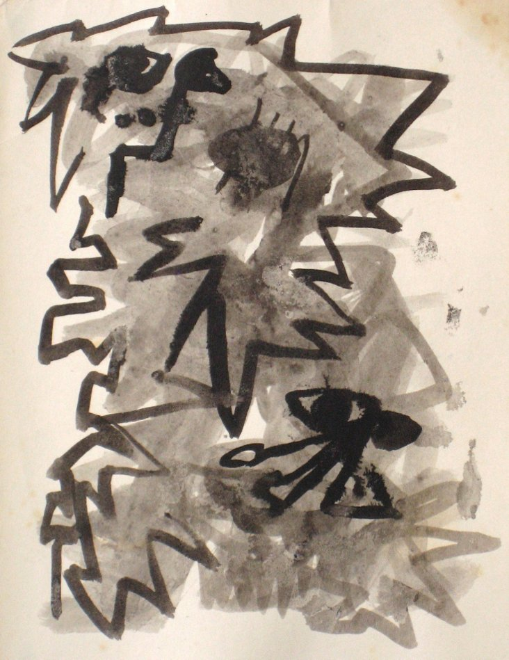 Puerto Rican Expressionist Abstract