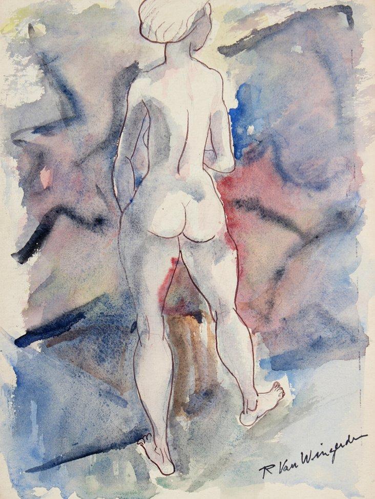 Watercolor by Van Wingerden