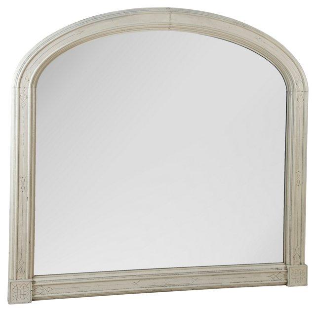 19th-C. White Mirror - now on website