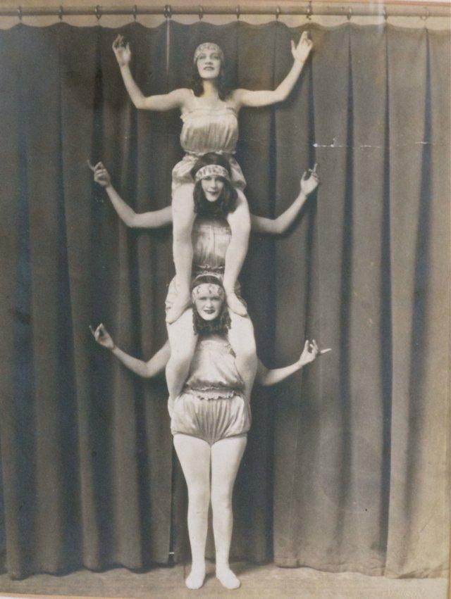 Vaudeville Girls Photograph