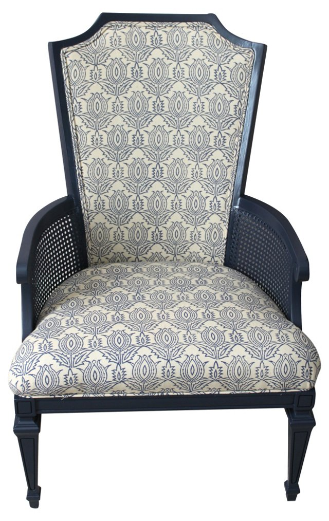 Chair w/ Madeline Weinrib Upholstery