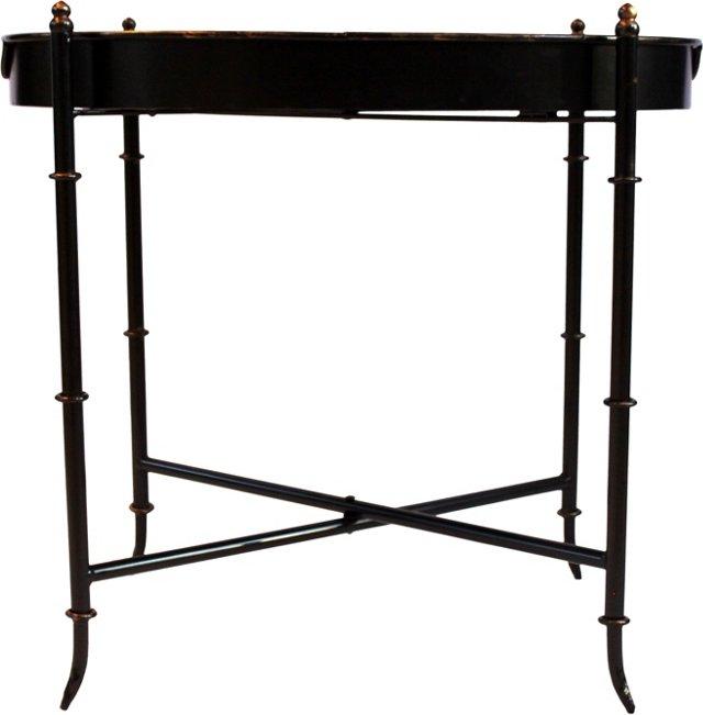 Bamboo-Style Folding Bar