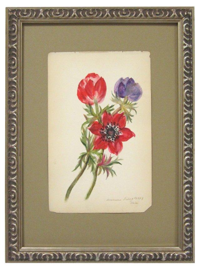 Blooming Anemones, 1883