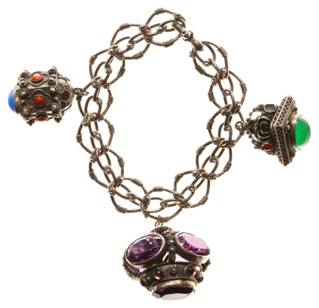 Peruzzi Charm Bracelet