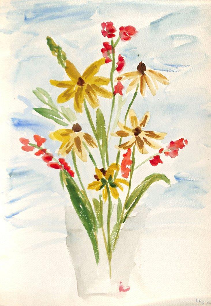 Bouquet Still Life, 1960