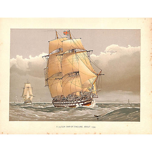 Tall Ship, Ship of the Line
