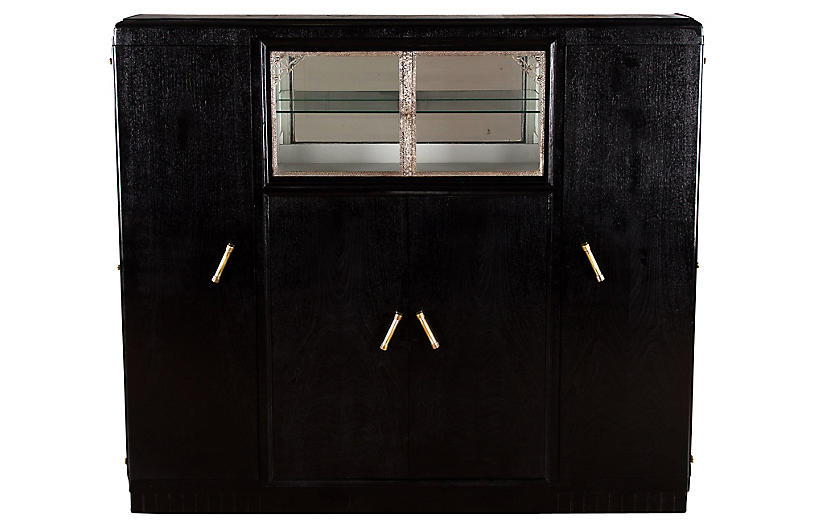 1930s French Art Deco Cabinet