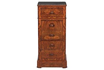 Antique Walnut Bedroom Furniture - One Kings Lane