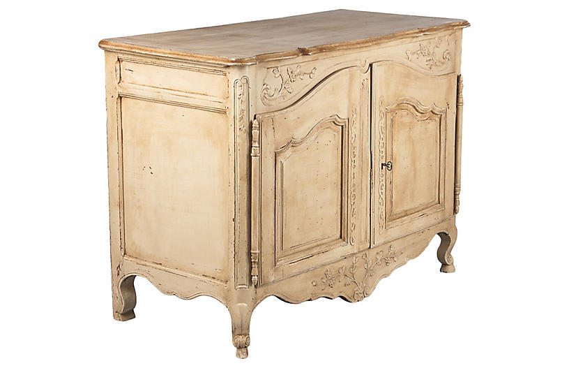 French Painted Louis XV Style Buffet