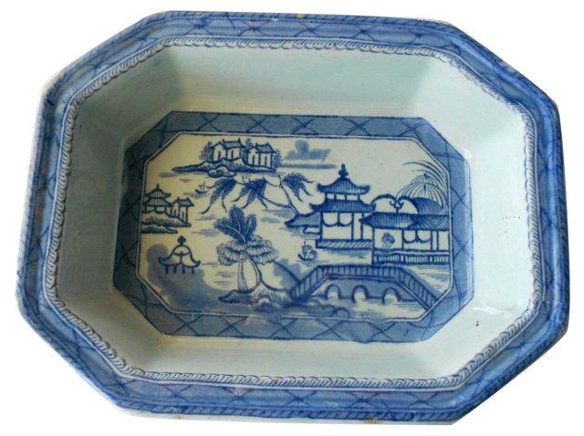 Blue & White Serving Platter