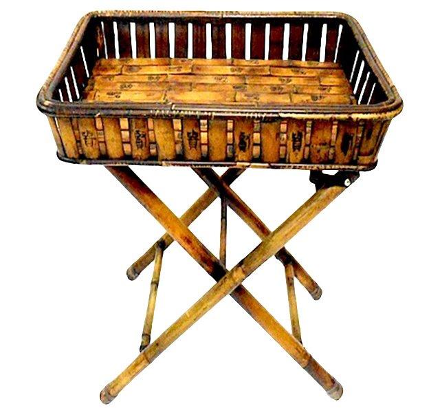 Bamboo Butler Tray Table