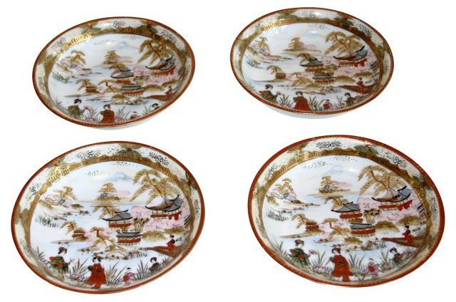 Chinoiserie Bowls, S/4
