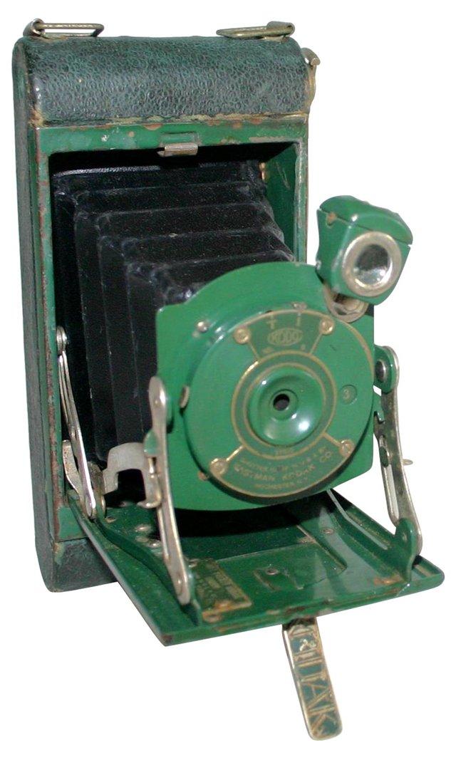 Kodak Green Folding Camera