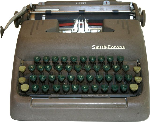 Smith-Corona Silent Typewriter
