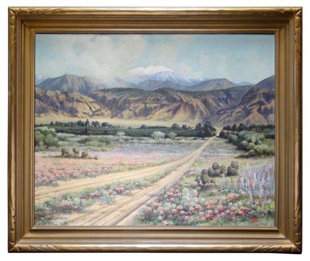 San Jacinto Hills by Frederick Robinson