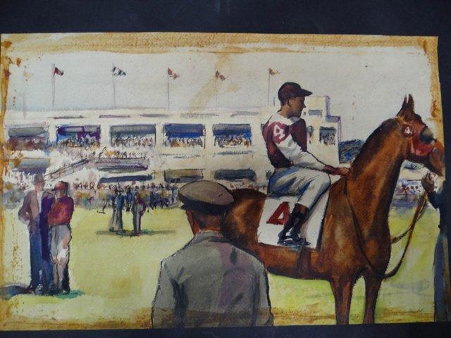 Horse & Jockey by Joseph L. Deitch