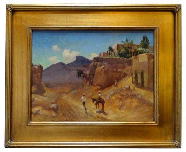High Desert Mexican Landscape