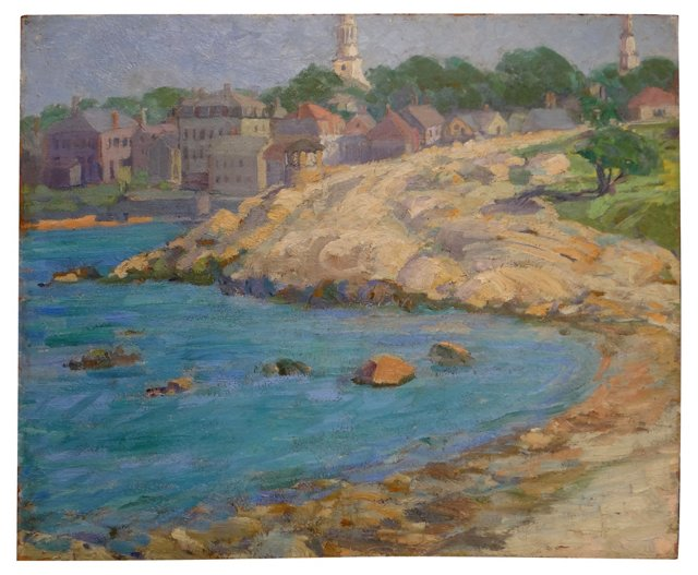 Provincetown Seaside by Unknown Master