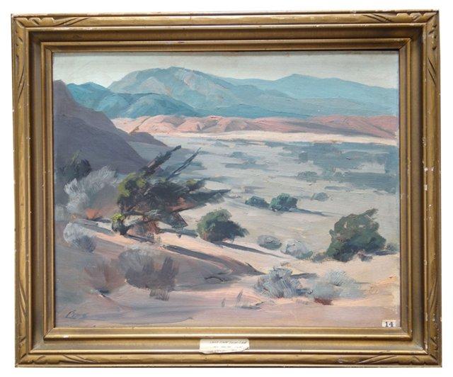 Desert Landscape by Ralph Love