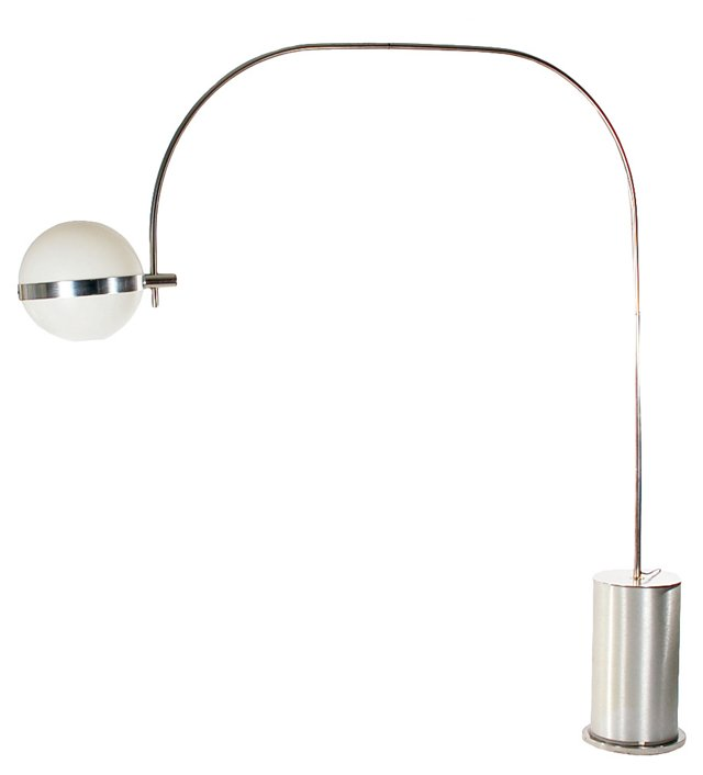 1970s Arch Floor Lamp