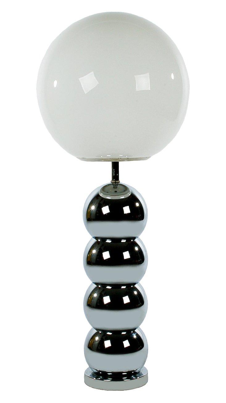 Chrome Bubble Lamp