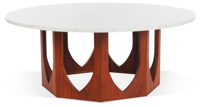 Coffee Table Attr. to Harvey Probber