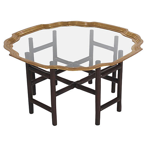 Modern Asian-Style Tray Table