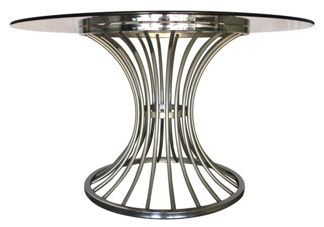 Midcentury Platner-Style Dining Table