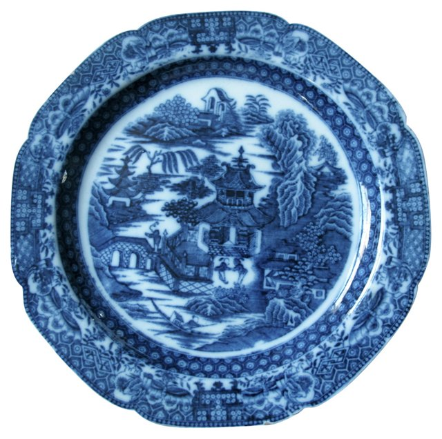 Staffordshire   Plate, C. 1780