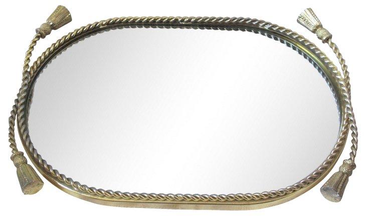 Gold Rope Vanity Mirror