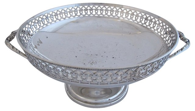 Walker & Hall Silverplate Compote
