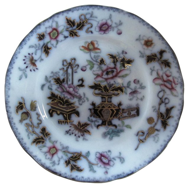English Mulberry Wall Plate, C. 1850