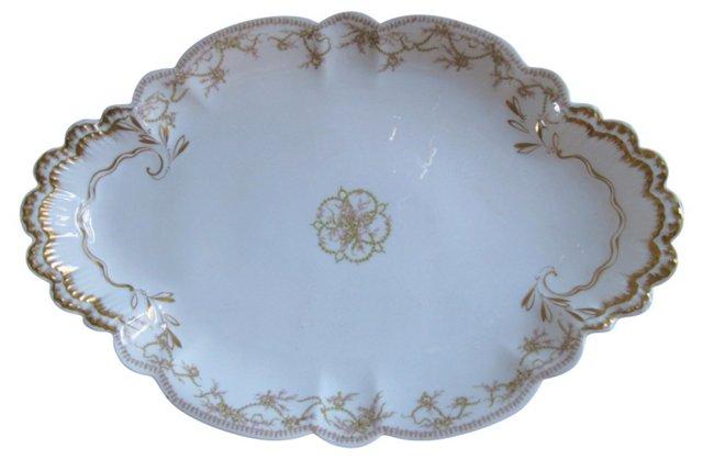 Antique French Limoges Platter