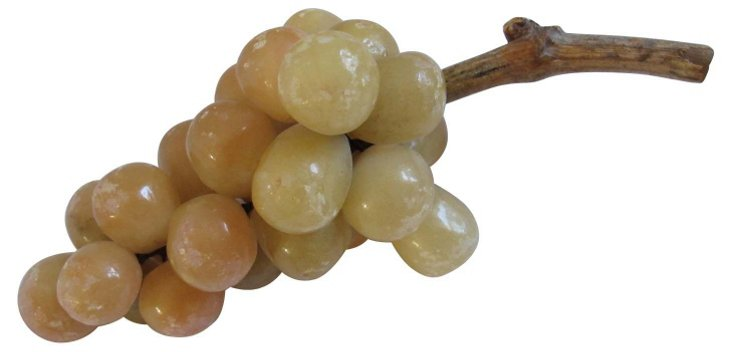 1960s Alabaster   Grape      Cluster
