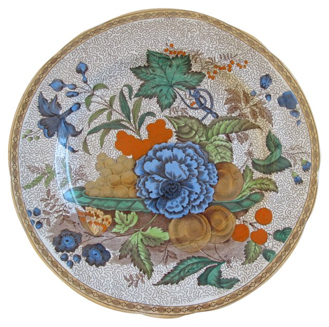 Wedgwood Luster Wall Plate