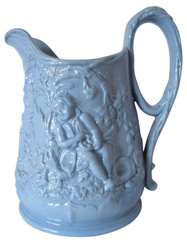 Antique Babes in the Woods Pitcher