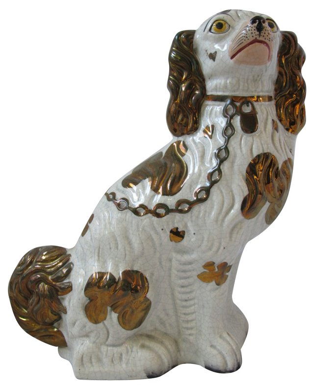 Antique  Staffordshire King Charles