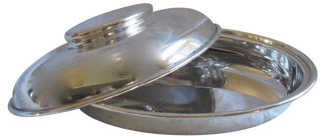 Elkington Silver Art Deco Serving Dish