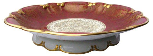 Gilded Porcelain  Comport